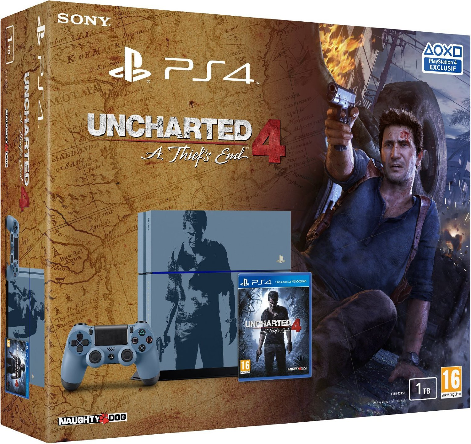 PS4 - édition Uncharted 4
