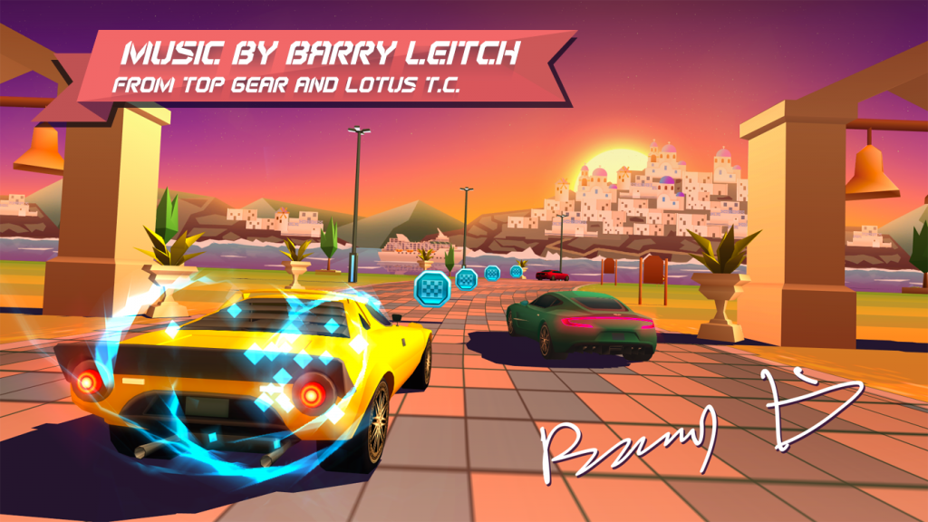 Horizon Chase by Barry Leitch