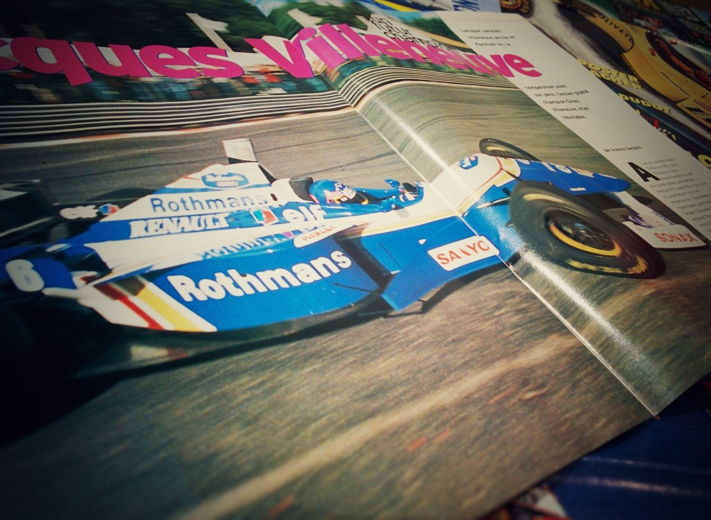 Grand Prix Magasine - 1996 - Jacques Villeneuve