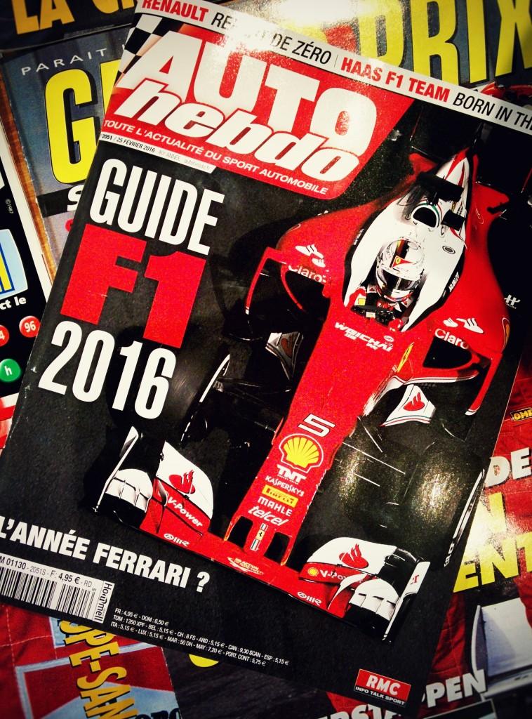 Auto Hebdo F1 - 2016