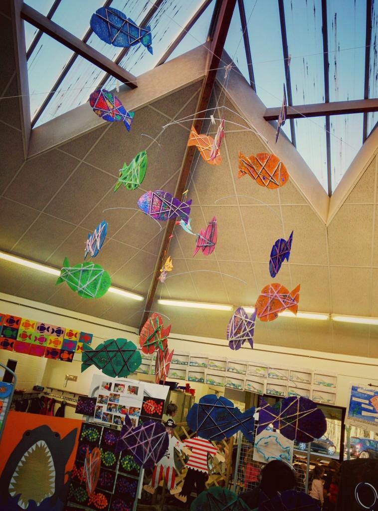 Exposition - L'océan - école du Sart Tilman - 2016