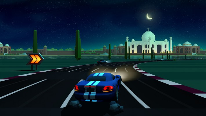 Horizon Chase Taj Mahal