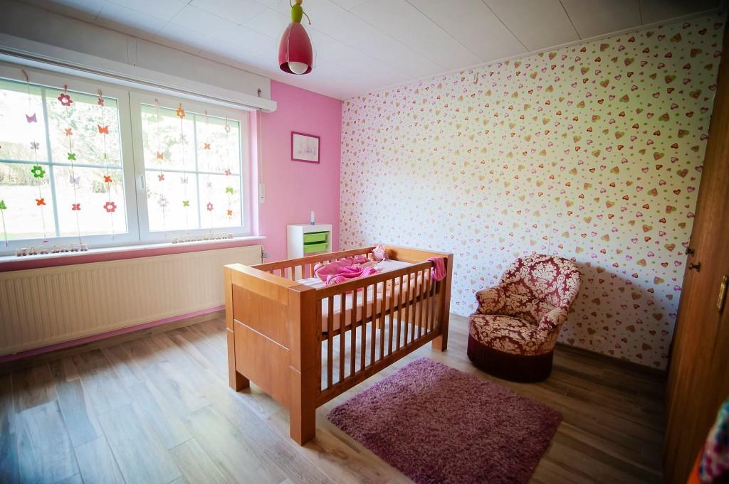 La nouvelle chambre de Rose