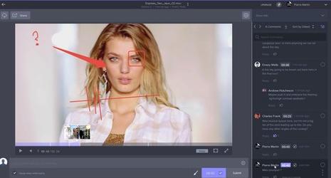 Frame.Io - Annotation Vidéo