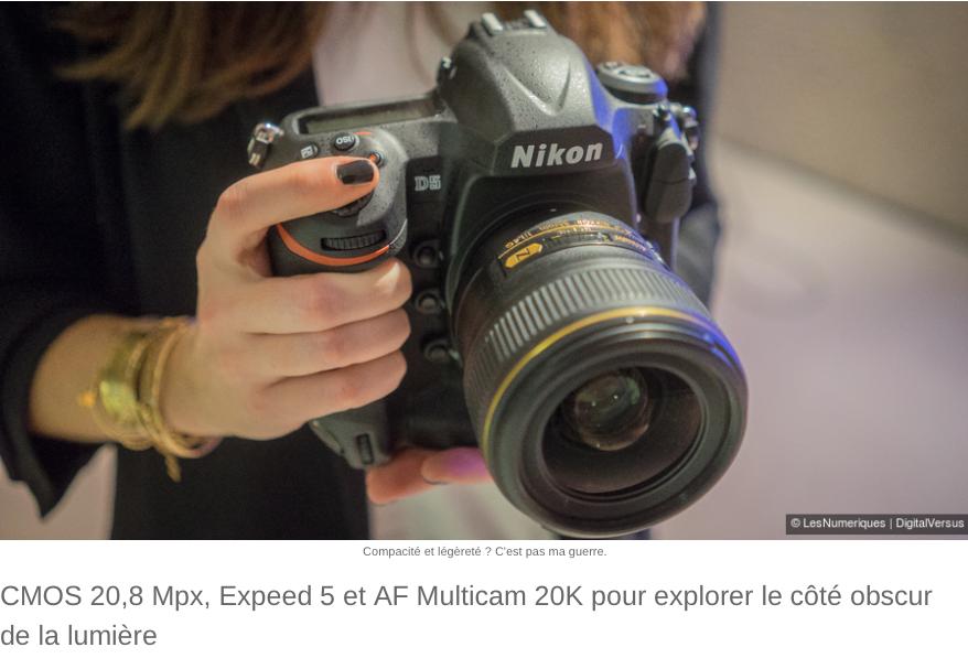 Nikon D5 - CES