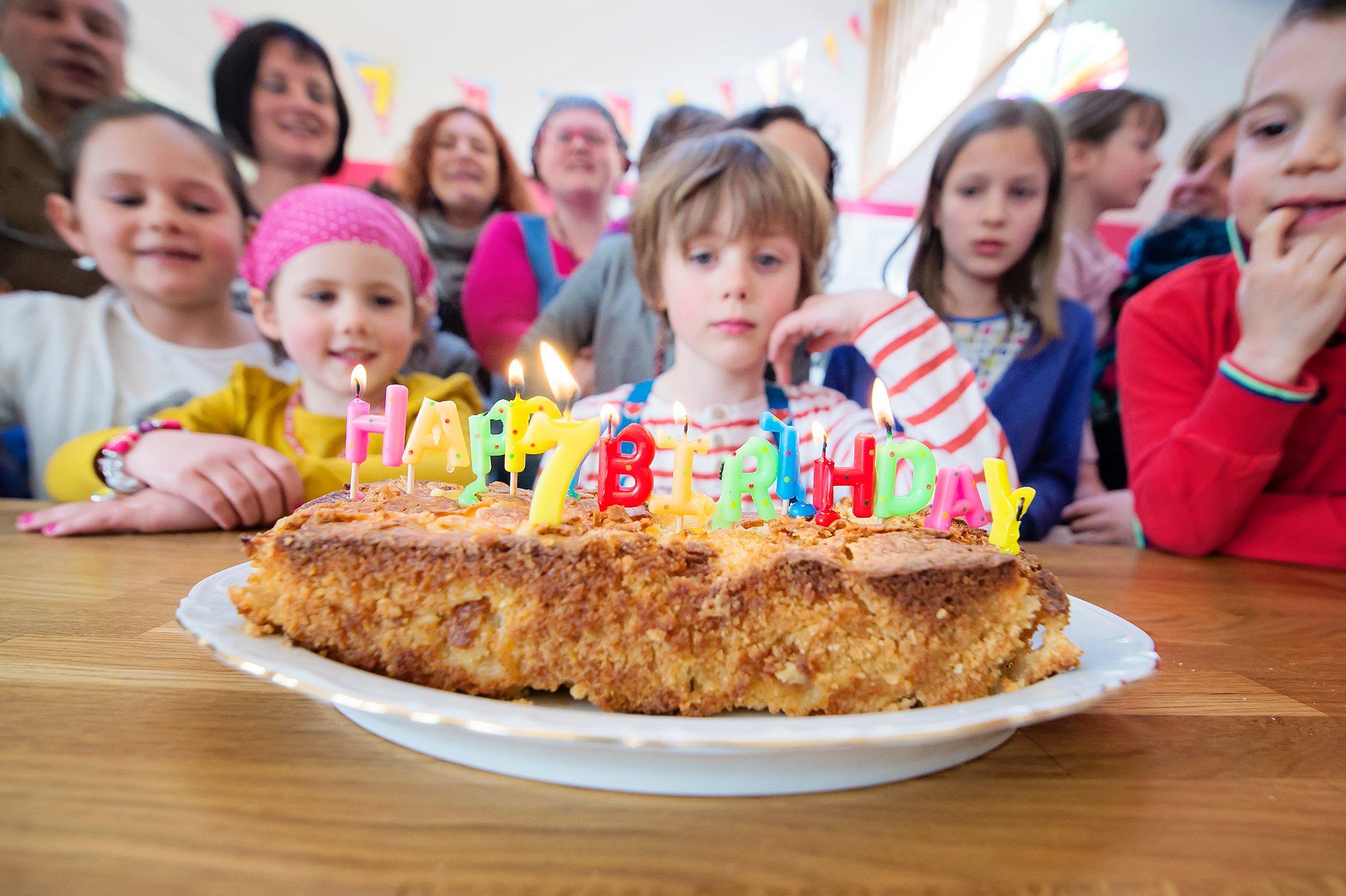 Anniversaire de Charly - 7 ans - Gâteau