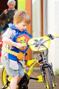 Charly et son nouveau vélo - 4 ans - 2013