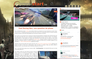 Press Start - Article - Fast Racing Neo