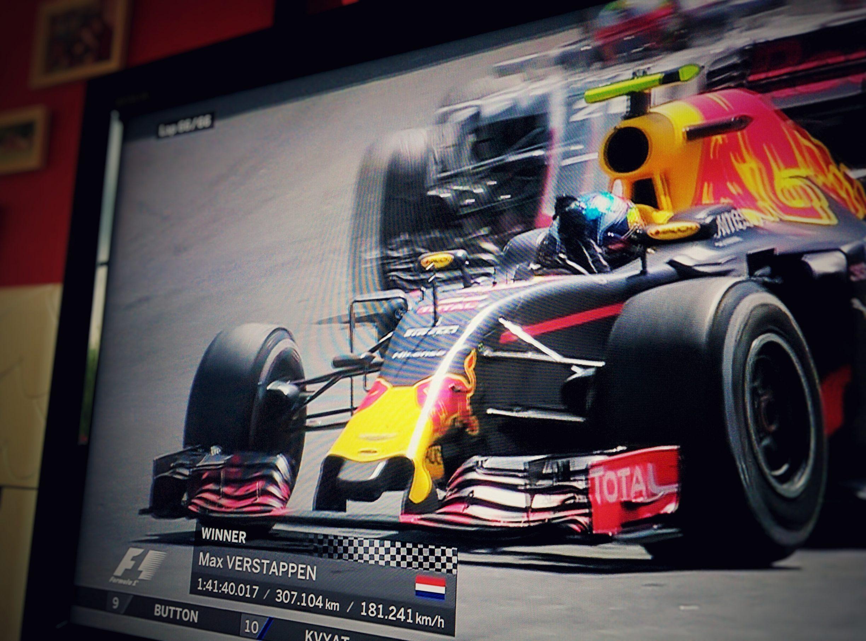 Max Verstappen - 1° victoire en F1 - Barcelone 2016 - RedBull