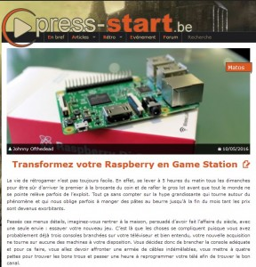 Transformez votre Raspberry en Game Station
