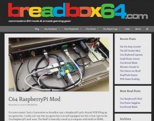 C64 RaspberryPi Mod
