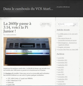 La 2600jr passe à 3.14, voici la Pi Junior !