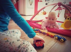 Hohoo les jouets de mes soeurs !