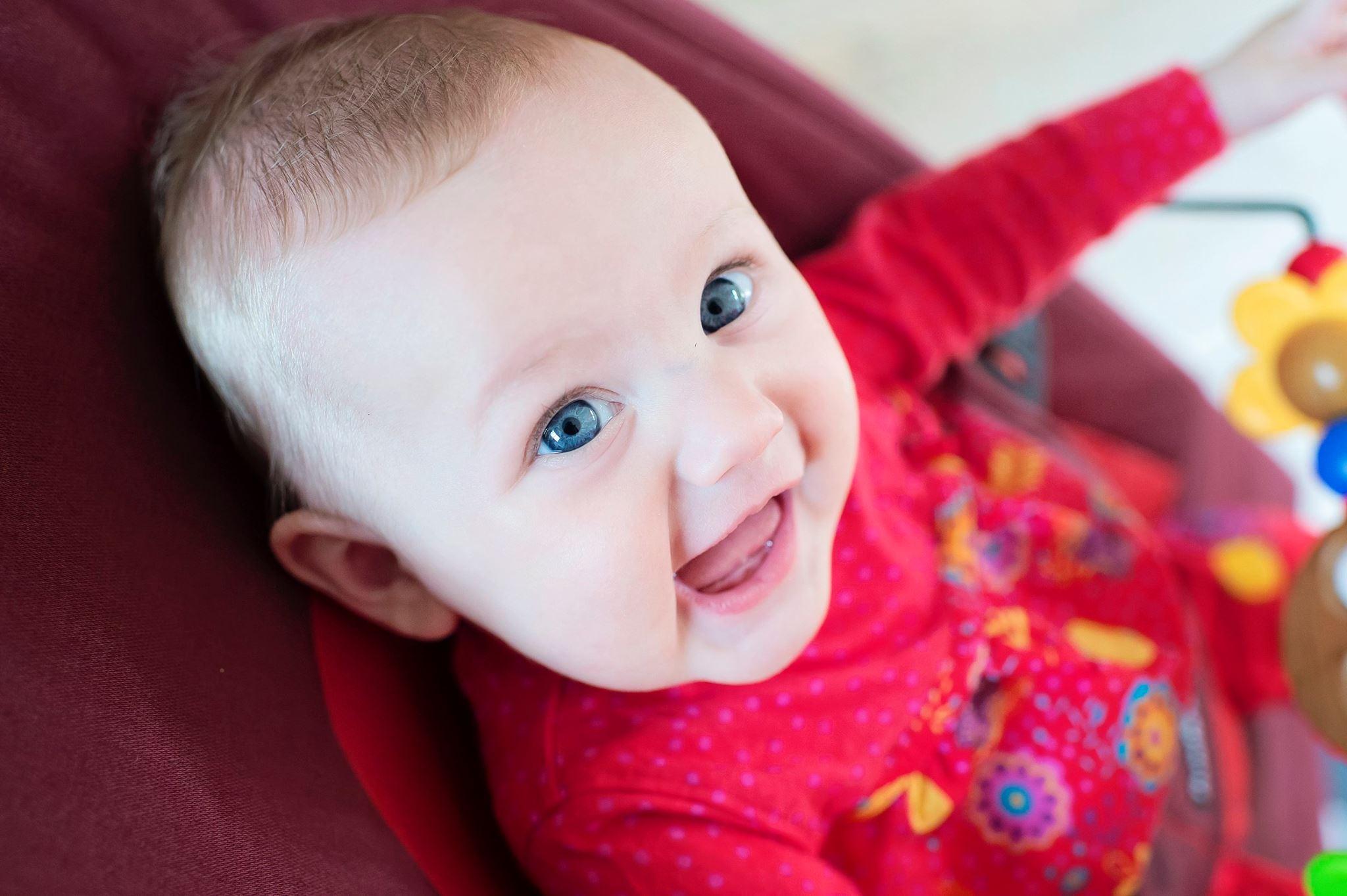 Rose, 6 mois