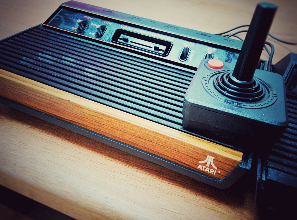 Woody - Atari 2600 - 4 switchs - Woodbox