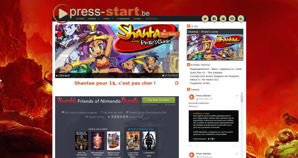 Shantae - Press Start
