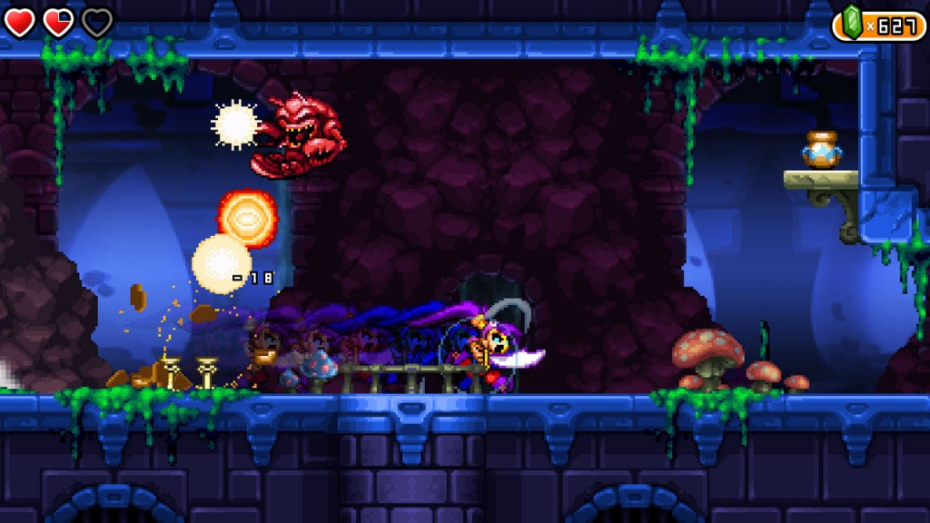 Shantae and the pirate's curse - les pouvoirs évoluent