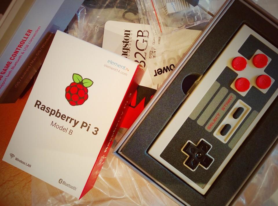 Raspberry, 8bitdo et cie...