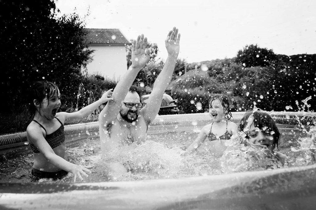 Vacances tous à la piscine !