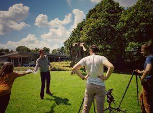 Mooc, les premiers tournages