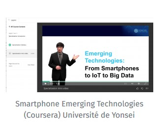 Smartphone Emerging Technologies (Coursera) Université de Yonsei