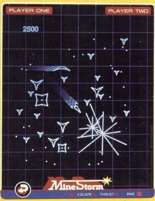 Minestorm - Vectrex (GCE, 1982)
