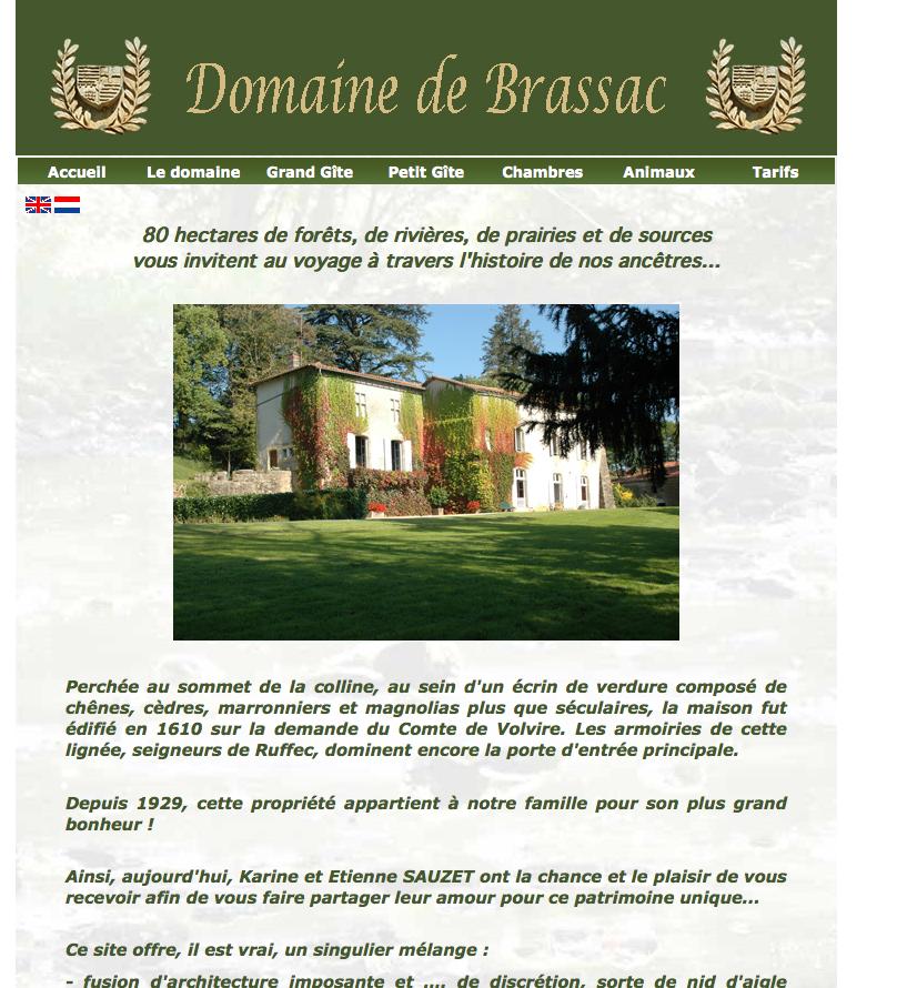 Le domaine de Brassac