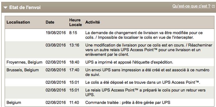 Kiala - UPS - C'est mort !