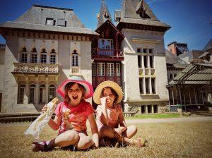 Famille Martin - le joli château du Parc du Reynou - Vacances en Poitou Charentes 2016
