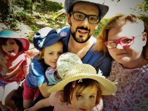Famille Martin - à six - Vacances en Poitou Charentes 2016