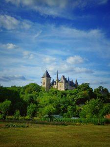 vacances 2016 - Haute Vienne - Un château sur la route