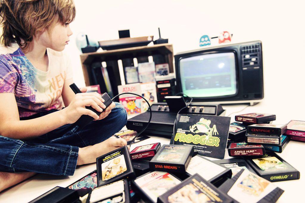 débauche de jeux Atari