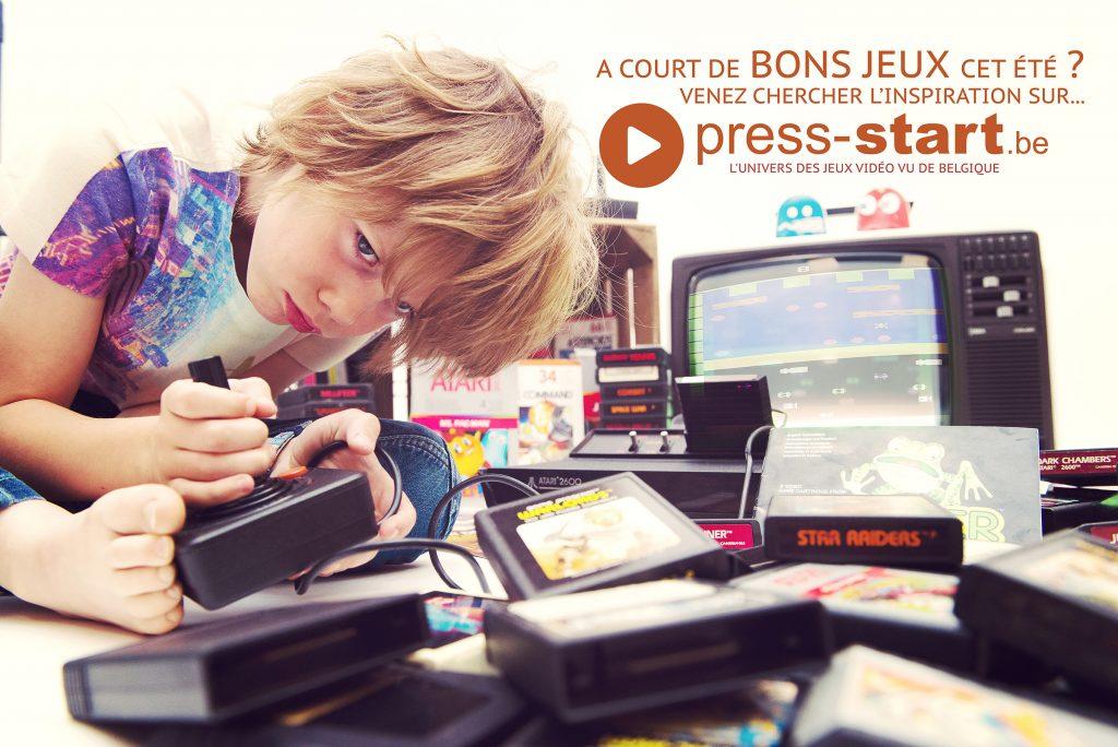 Atari - Charly - Press Start - Rétrogaming