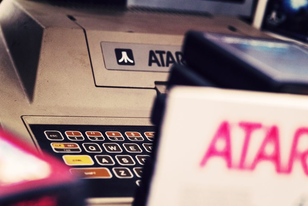 L'Atari 400 de mon Papy des villes