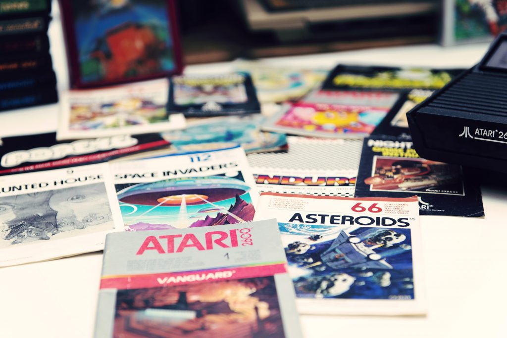 Brochures de jeux Atari - Vanguard Asteroids
