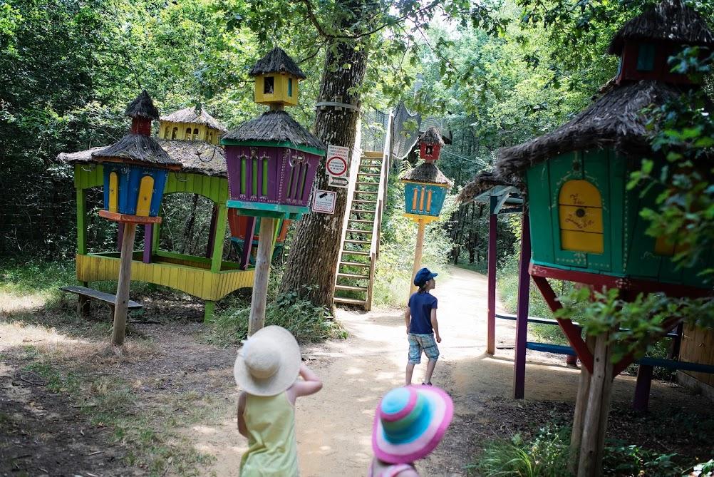vacances 2016 - Parc Defi Planet' - La forêt de farfadets