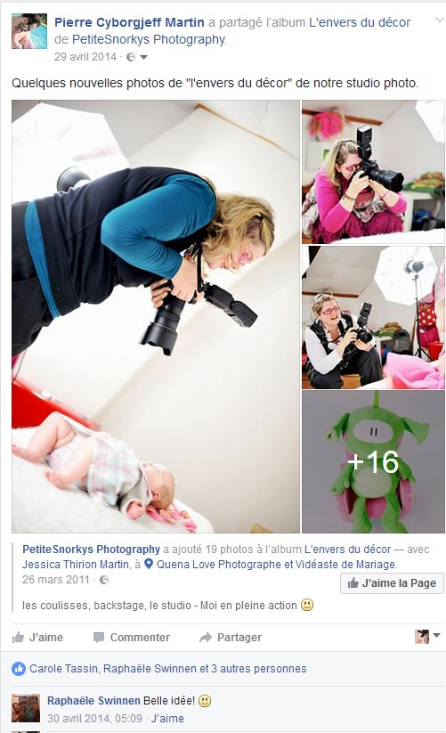 Facebook - avril 2014 - studio photo petite snorkys photography
