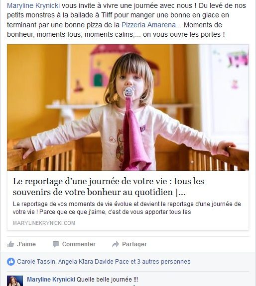 Facebook - Reportage Photo - avril 2014