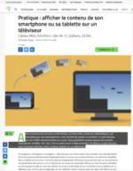 100% e-Media : On peut Caster Facebook sur sa télévision