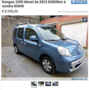 Renault Kangoo - Occasion