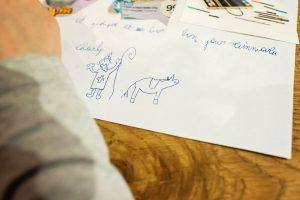 Ecrire la lettre à Saint Nicolas - 2016