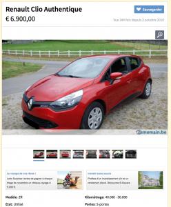 Renault Clio - Occasion