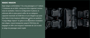 Fiat 500L Living - Intérieur