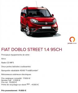 Promo - Fiat Doblo