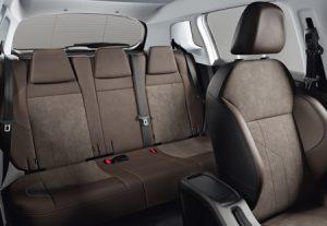 Peugeot 2008 - sièges arrières
