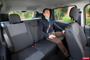 Dacia Duster - Sièges arrières