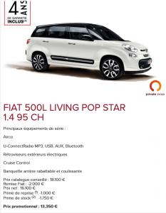 Fiat 500L Living - Promo