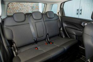 fiat-500l siège arrière