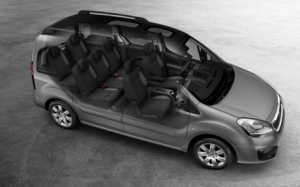 Peugeot Partner Teepee - espace intérieur