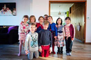 Alice & Juliette - 5 ans - Avec vos copains de classe